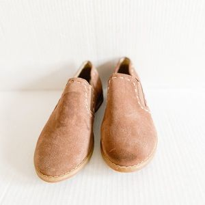 H|p by hush puppies brown slip on size 6